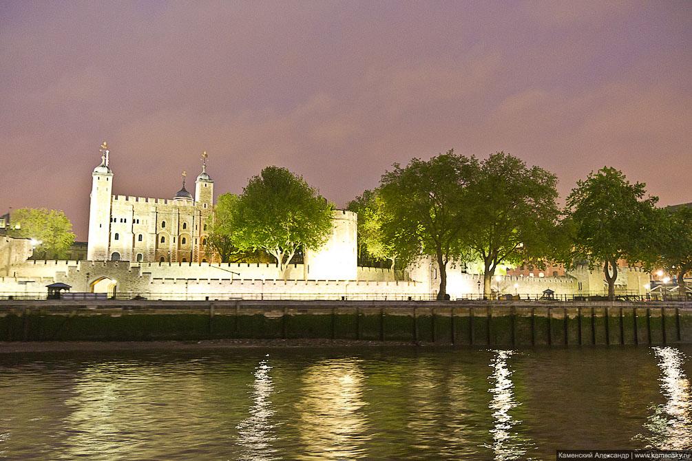 Лондон, прогулка по Темзе