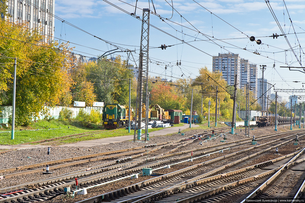 Москва, Белорусское направление, пассажирские платформы, Кунцево, Фили, Тестовская