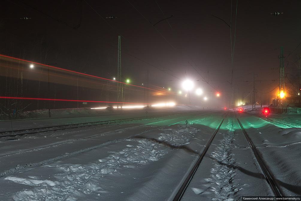 Московская область, Софрино, железная дорога