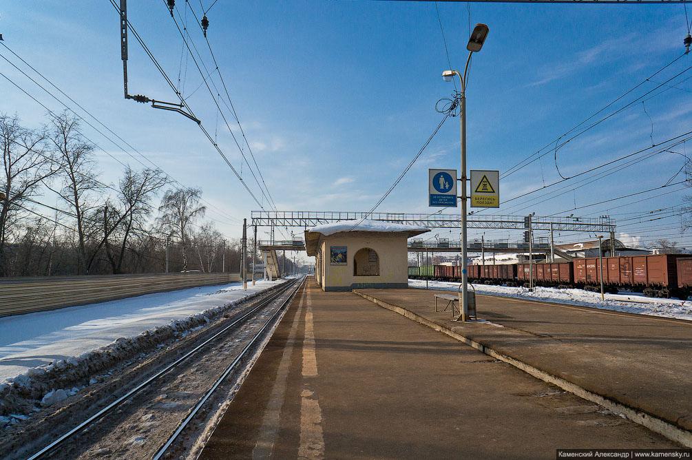 Горьковское направление в Москве.