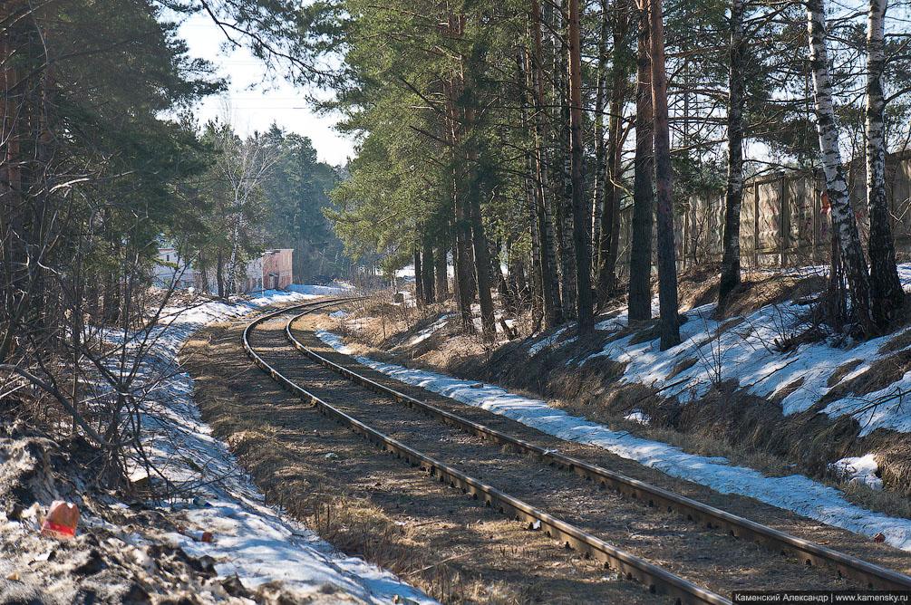 Красноармейск, железная дорога, платформа, станция, Ярославское направление, МЖД, зима, электричка