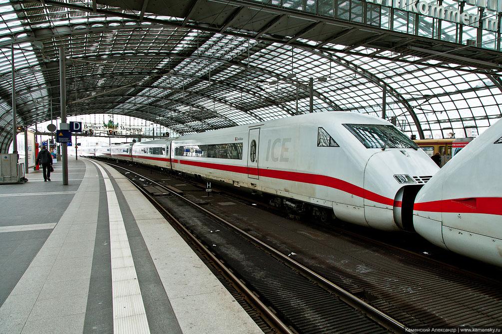 Германия, Берлин, рельсовый транспорт