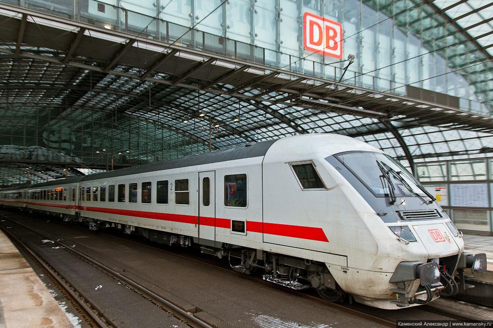 Германия, Берлин, рельсовый транспорт, berlin, IC DB class 297