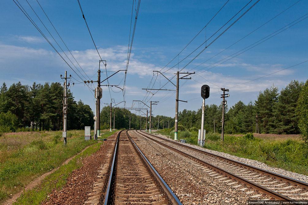 Московская область, Казанское направление, железная дорога, пригородные платформы, электричка, Stadler KISS, ODEG ET class 445