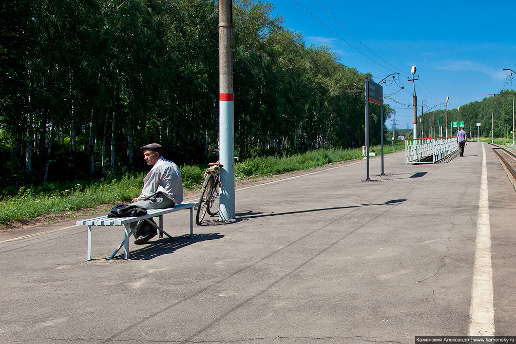 Московская область, Гжель, Казанское направление, ЦППК, платформы, Григорово, 55 км, электричка, электропоезд, ЭД4М