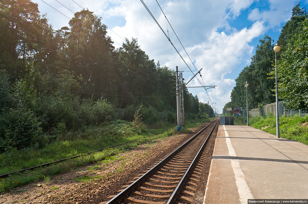 Ивантеевка, железная дорога, фотография, история и современость