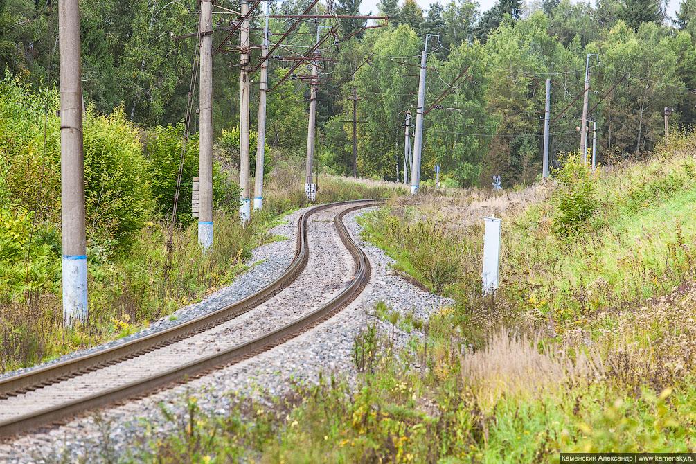 вагоны, Московская область, Ярославское направление, железная дорога