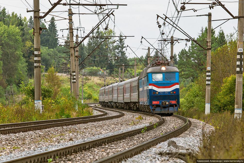 платформа Клязьма, Московская область, Ярославское направление, железная дорога