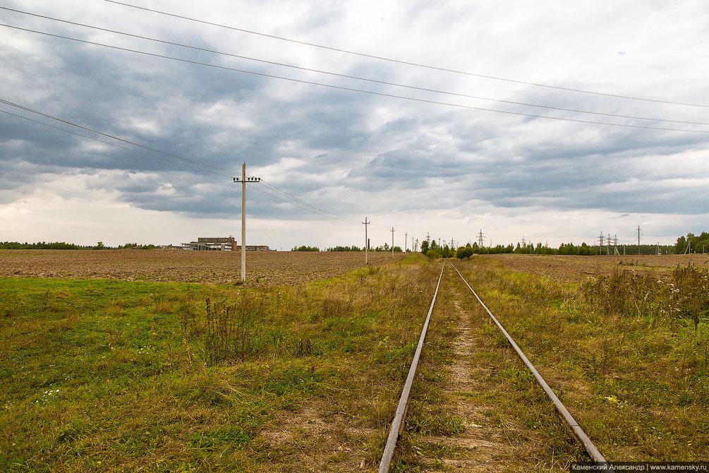 Московская область, ппжт, подъездной путь, станция Морево, Тучково