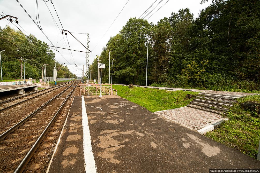 платформа Радонеж, Московская область, Ярославское направление, железная дорога