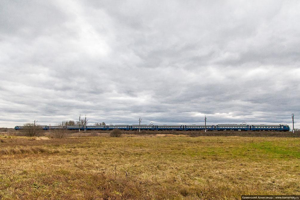 платформа Фёдоровское, Московская область, Ярославское направление, железная дорога