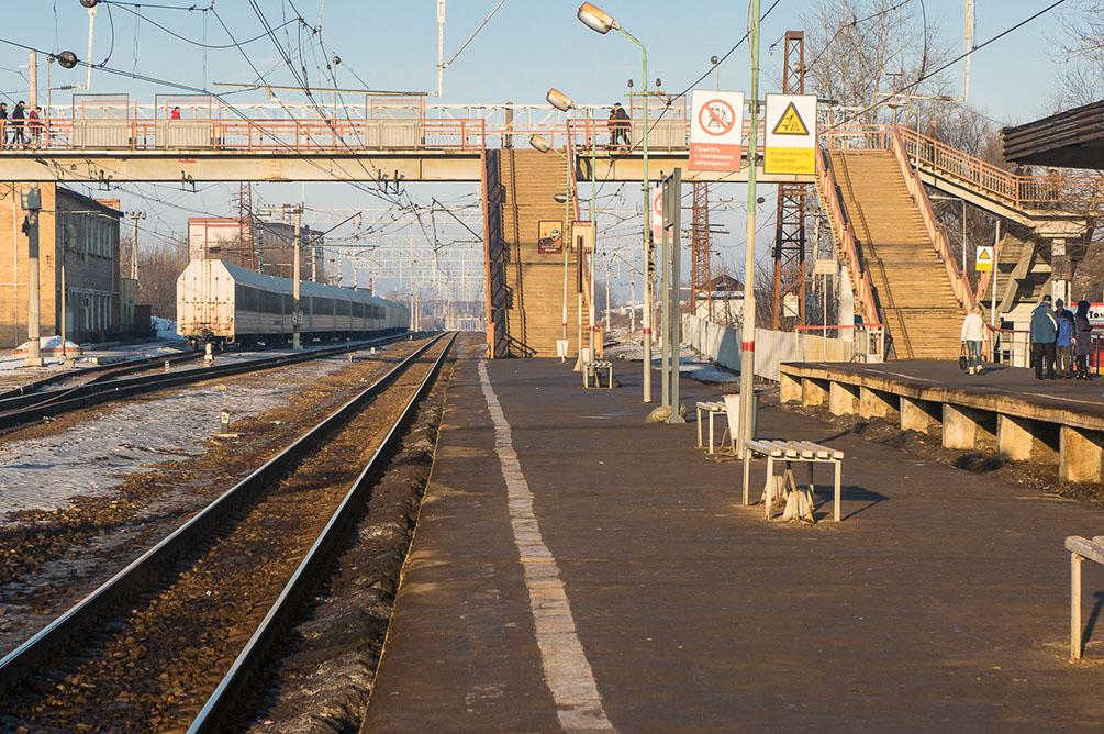 Московская область, Курское направление, Подольск, Гривно, Весенняя, станции, платформы, электропоезда