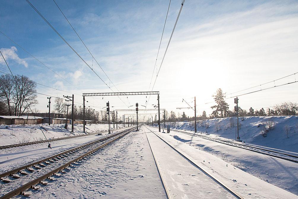 Московская область, Владимирская область, Ярославское направление, БМО, станции и платформы, зима