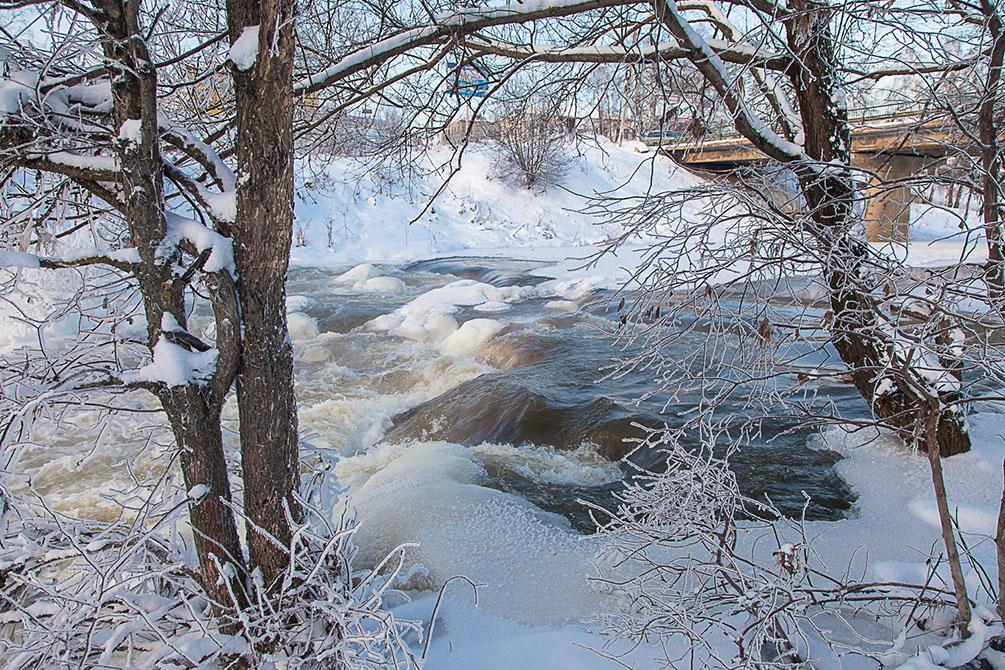 Владимирская область, Киржач, зима, крещенские морозы