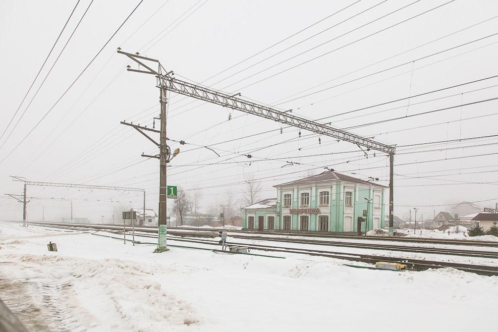 Белорусское направление, весна, станции и платформы, Дровнино, Уваровка, Колочь
