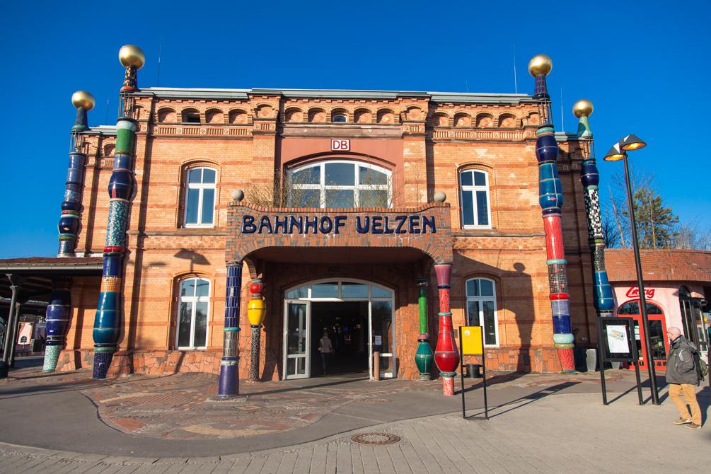 Германия, вокзал, Ильцен, Uelzen
