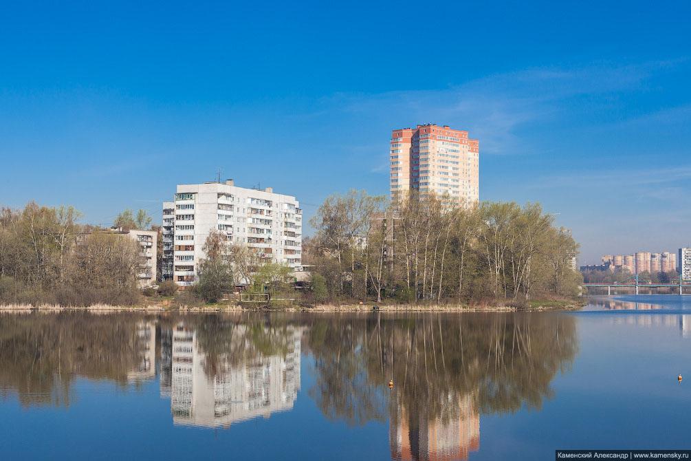 Московская область, Пушкино, городской пляж, Серебрянка, ВИТ