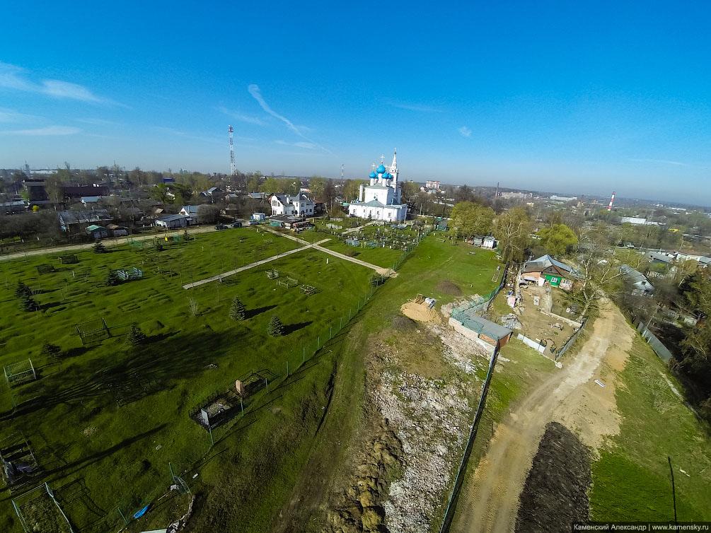 Московская область, Пушкино, город с высоты, Новостройки, красивый вид, Серебрянка, ВИТ