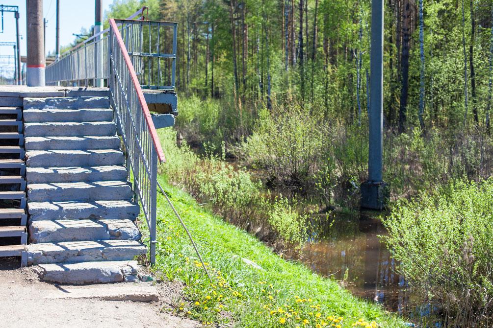 Казанское направление, весна, станции и платформы, Куровское, Авсюнино, депо