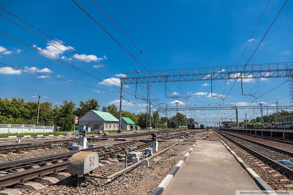 Лето, Московская область, Казанское направление, смена сторон
