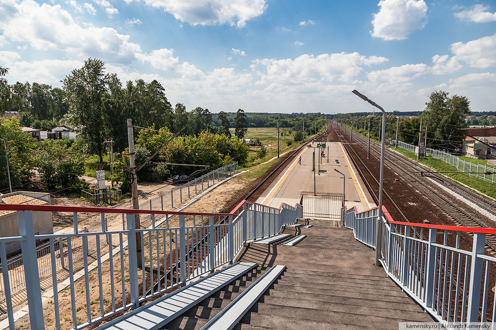 Московская область, Рязанское направление, станции и платформы