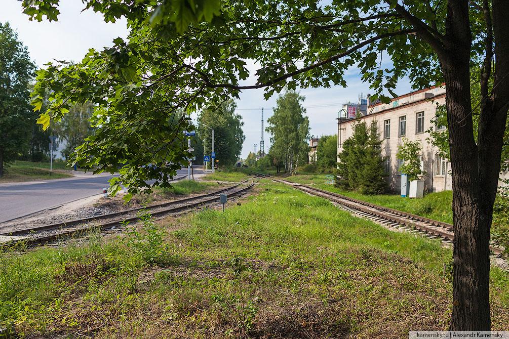 Московская область, ППЖТ, подъездной путь, Пересвет, лето