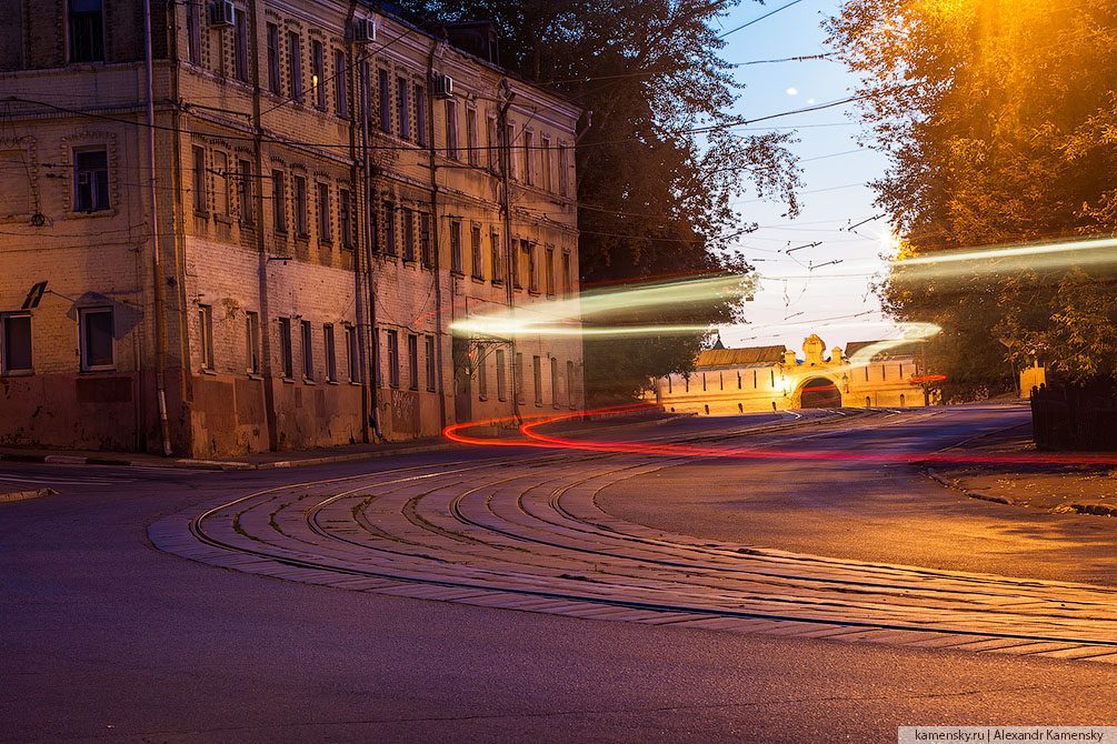 Москва, лето, ночные фотографии