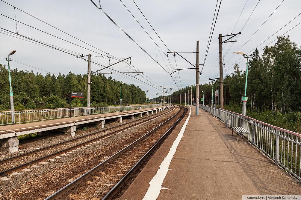 Московская область, Казанское направление, станции и платформы