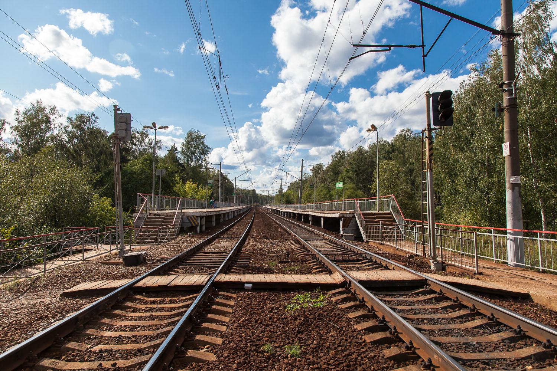 Рижское направление, лето, станции и платформы, Снегири, Опалиха, Нахабино