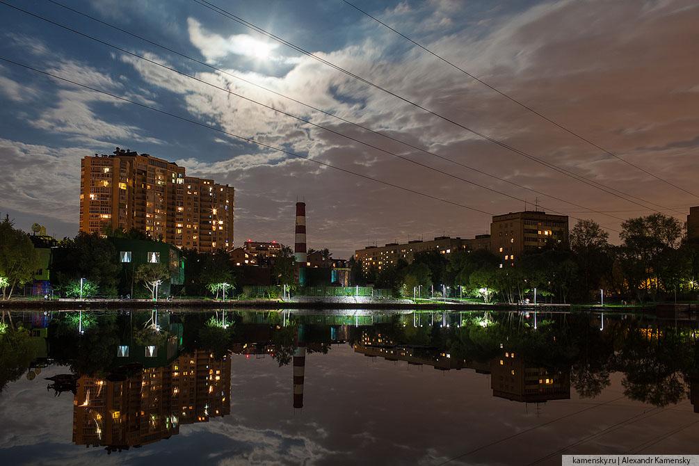 Московская область, природа, красиво, лето, вечер, закат