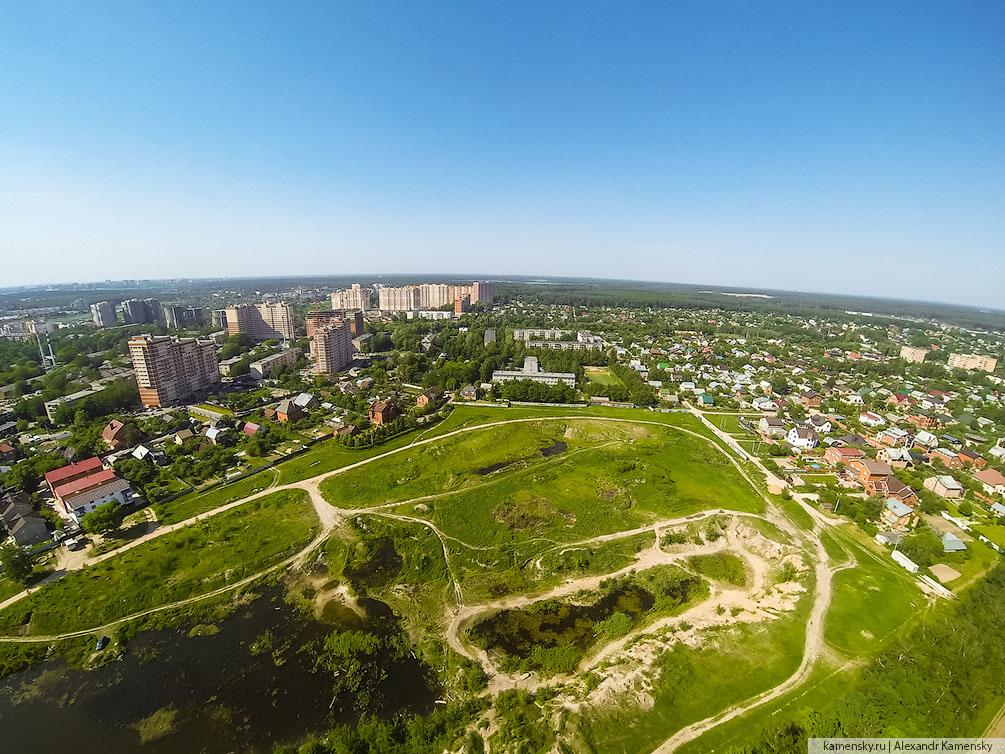 Московская область, лето, ярославское направление, квадрокоптер, с высоты, красота