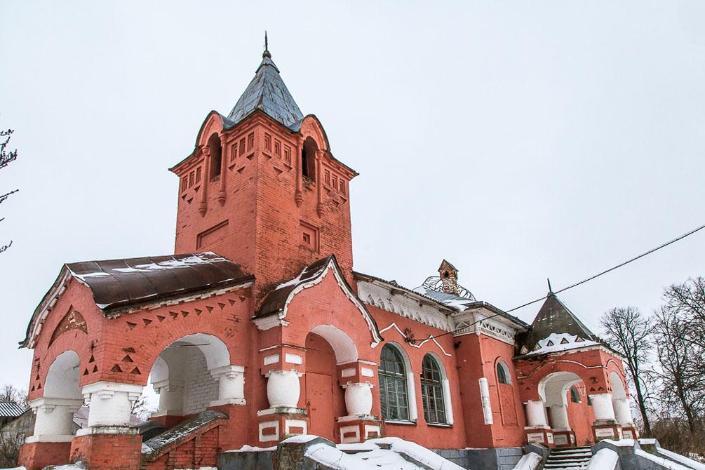 Тульская область, малодеятельные железные дороги, зима, станции и платформы
