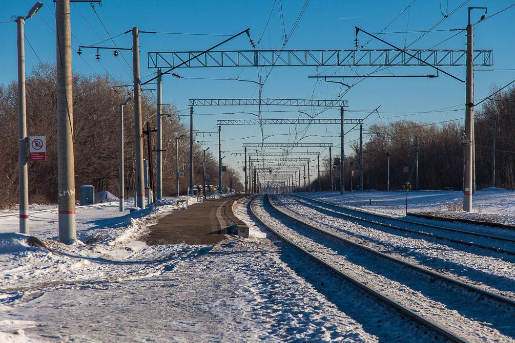 Рязанское направление, станции, платформы, фотография, Депо