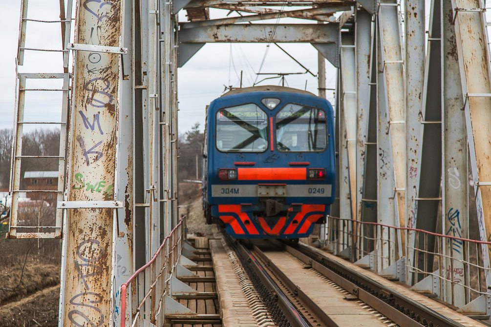 Ярославское направление, Красноармейская ветка, Красноармейск, Весна, станции и платформы, электропоезда ЭД4М, тепловозы ЧМЭ3