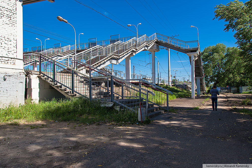 Московская область, Павелецкое направление, Белые Столбы, лето