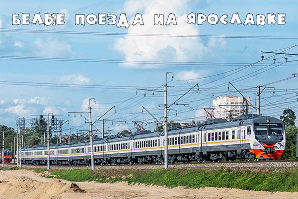 Ярославское направление, Лето, ЦППК, Электропоезда, Пушкино