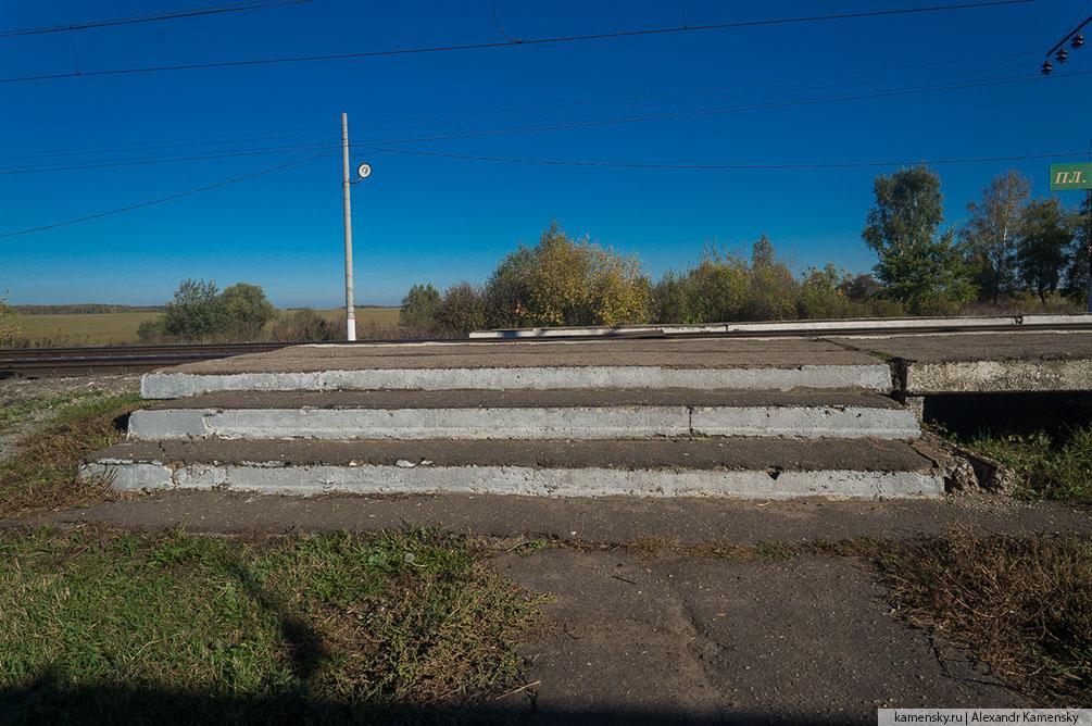 Московская область, Рязанское направление, осень