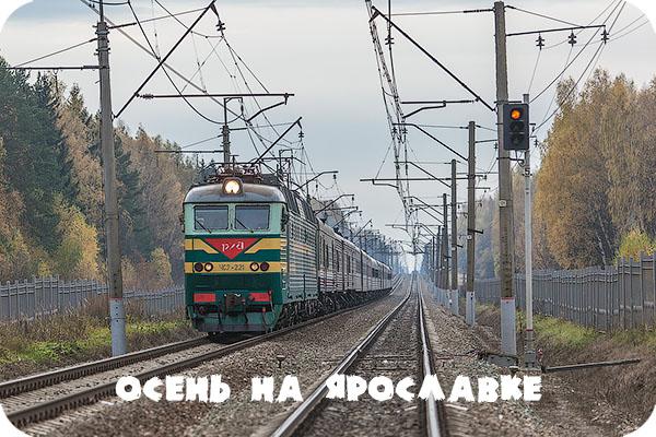 Осень, Московская область, Ярославское направление