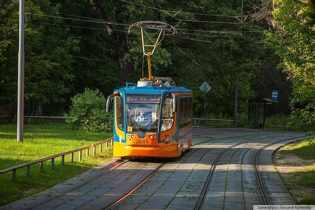 Москва, лето, трамваи