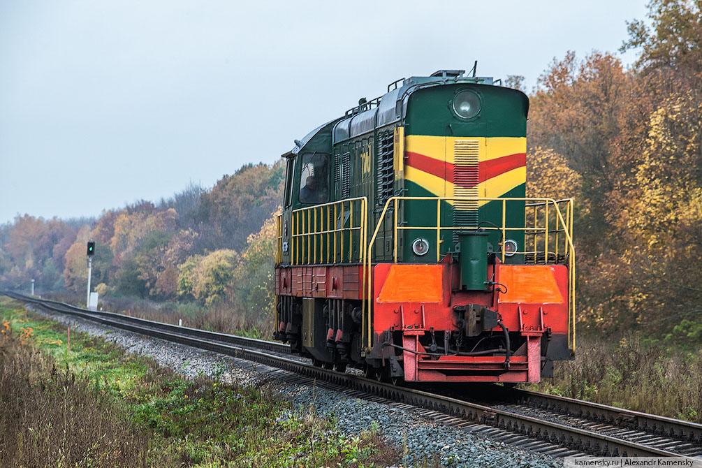 Московская область, Павелецкое направление, тепловозы, осень