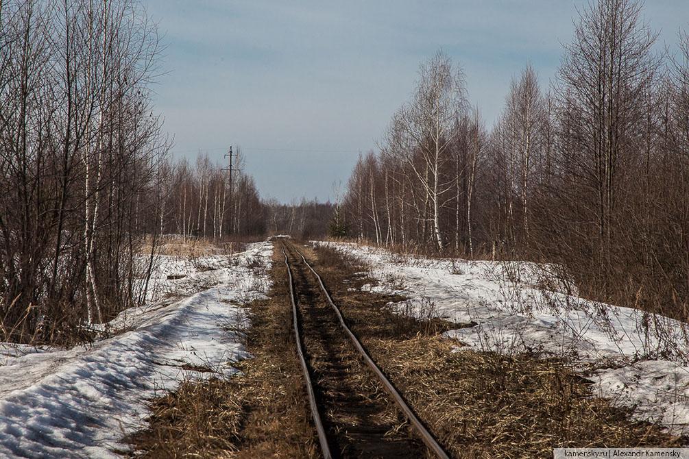 Московская область, Владимирская область, Рязанское направление МЖД, весна, станции и платформы