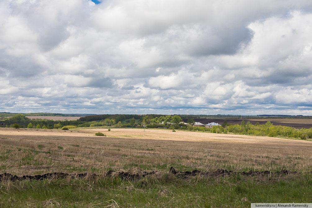 Тульская область, Рязанская область, поля, весна5