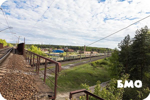 Московская область, река, Клязьма, закат, весна, март