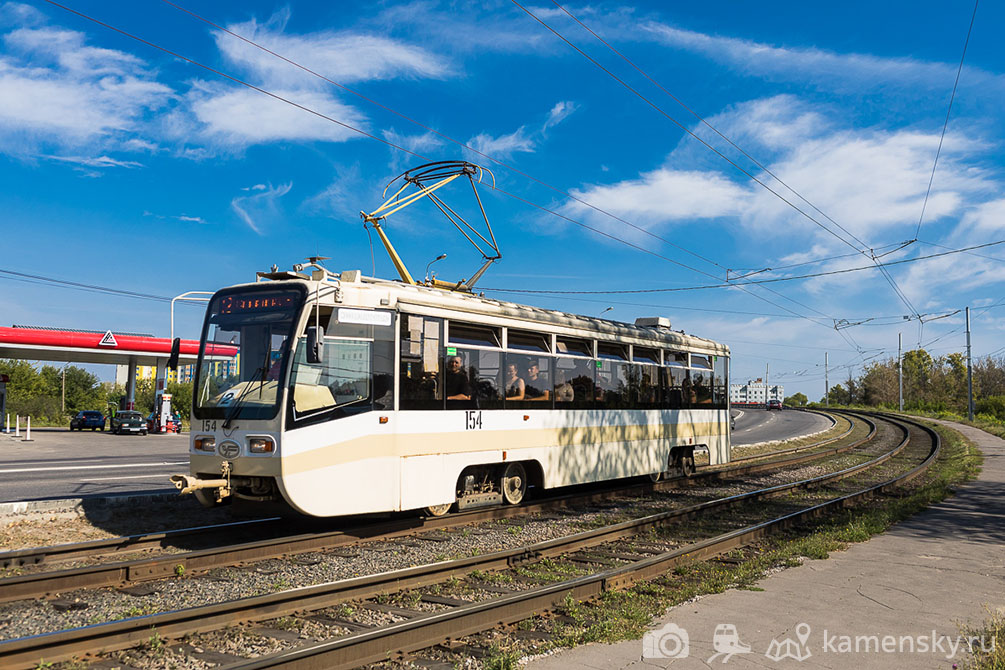 Московская область, лето, Коломна, трамвай