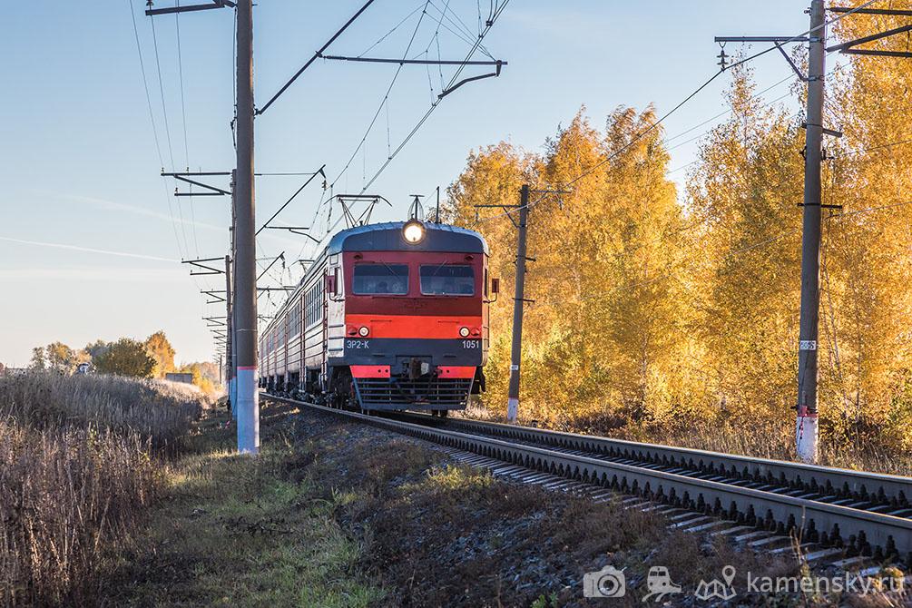 Рязанская область, платформа Козловка, линия Рыбное - Узуново, осень