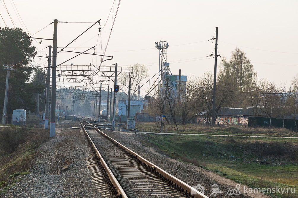 Московская область, Ярославское направление, весна