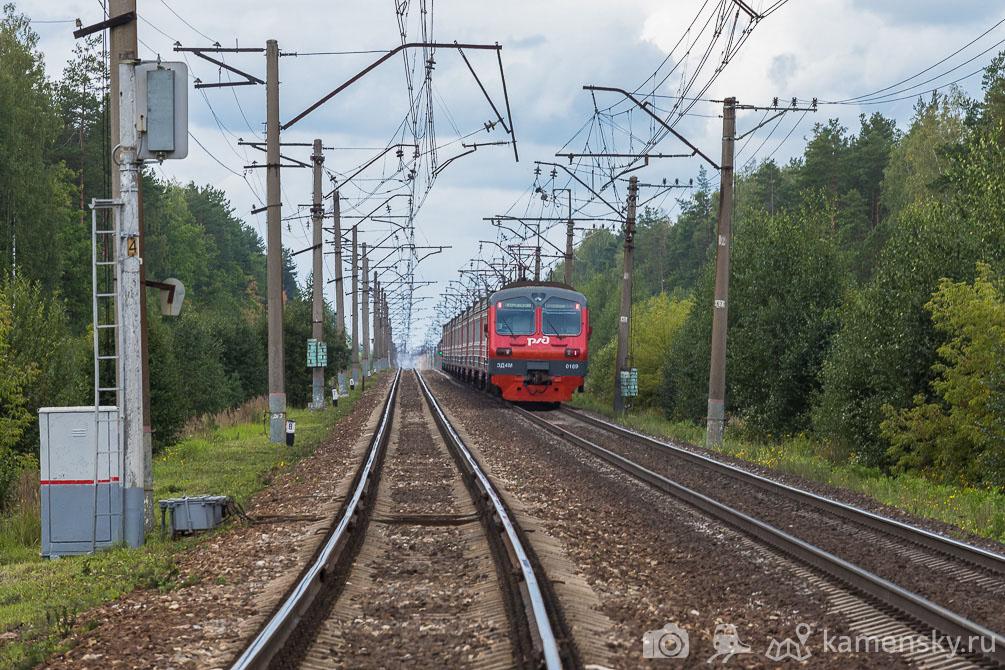 Казанское направление, Московская область, платформа Донино, ЧС7