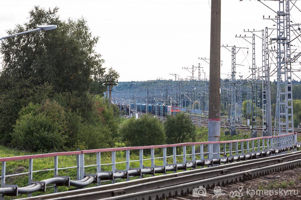 Московская область, БМО, лето, железная дорога