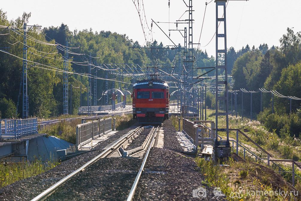 Московская область, БМО, лето, железная дорога5